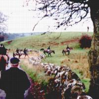 A typical hunt scene